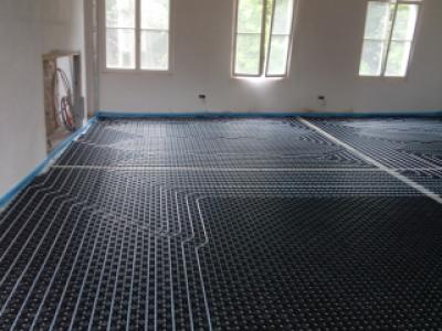 Project Ternat vloerverwarming 3
