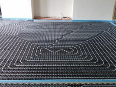 Project Ternat vloerverwarming 4