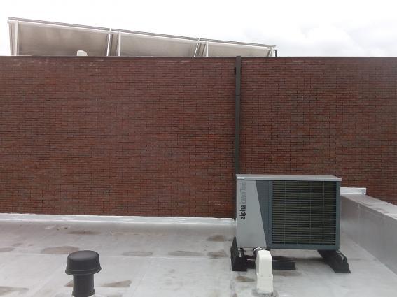 Plaatsing van een warmtepomp lucht/water